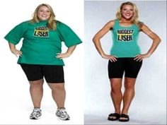 be your own biggest loser!! Love her!!!