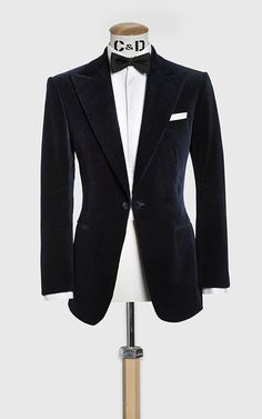 Business Suit, Wedding Suit or Casual Wear. Book online or visit us in Savile Row, The City, New York & Stockholm. Tuxedo Coat, Tuxedo Dress, Tuxedo Jacket, Velvet Dinner Jacket, Most Stylish Men, Cool Suits, Men's Suits, Bespoke Suit, Savile Row