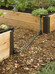Raised Bed Soaker Hose Connector Kit - Snip-n-Drip | Gardeners.com