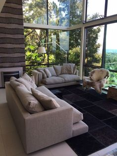 Flexform sofa Long Island for living room for an house in Auckland - New Zealand