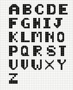 Buzy Bobbins: Bold Quirky cross stitch Alphabet