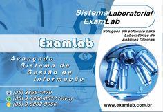 ExamLab Sistema Laboratorial (35) 3865-1470 [fixo] (35) 9 9866-8617 [vivo] (35) 9 8882-9956 [oi]