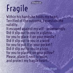 Fragile - An Emily Wright original