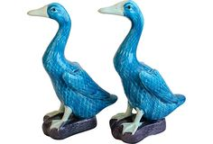 "Japanese Porcelain Ducks, Pair, 5.5""L x 3""W x 9""H, vintage, $189.  I would like to have a pair of these."