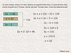 Учим составлять уравнения для решения задач в 6 классе