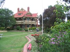Langley Hall in White Hills Edwardian Era, Victorian, Victoria Australia, My Dream Home, Old Photos, Melbourne, Homes, Mansions, History