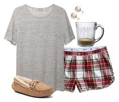 """""""goodnight"""" by preppy-classy ❤ liked on Polyvore featuring Aerie, T By Alexander Wang, DaVonna and UGG Australia"""