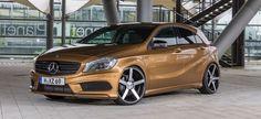 Ein neuer Stern am Tuning-Himmel: 2012er Mercedes-Benz A-Klasse frisch gemacht