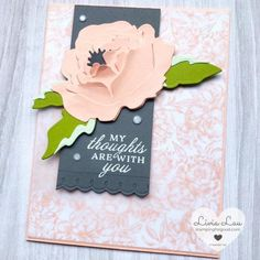 Peony Garden | Stampin' Up | Stamping for Good Peonies Garden, Stampin Up, Cards, Stamping Up, Map