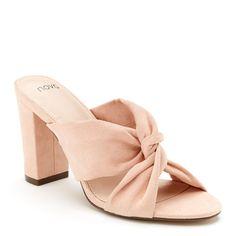 Novo - Mendy Blush Heels, Heeled Mules, Cinderella, Sandals, Pink, Closet, Shoes, Style, Fashion
