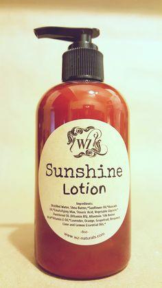 Sunshine Lotion