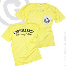 would be so cute with the alpha xi delta coat of arms Phi Sigma Sigma, Alpha Omicron Pi, Delta Phi Epsilon, Kappa Kappa Gamma, Kappa Alpha Theta, Greek Week, Greek Life, Sorority Life, Sorority Shirts