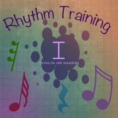 Rhythm Exercises I For Violin Or Clapping