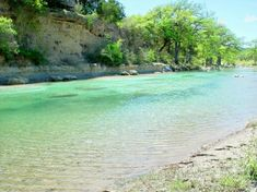 The FRIO River down in the Hill Country of TX -- rent a cabin and float a crystal clear and beautiful river.
