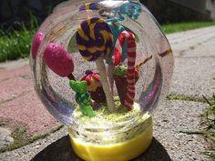 Candyland snowglobe Candyland, Snow Globes, Artwork, Photos, Inspiration, Home Decor, Biblical Inspiration, Work Of Art, Pictures