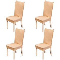 1//2//4PCS Spandex Fabric Stretch Dining Room Chair Seat Covers Soft Slipcovers US