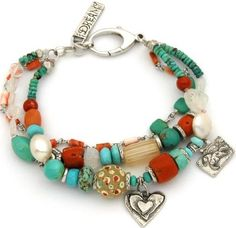 Love this look!!! I definitely have to try to make this bracelet!