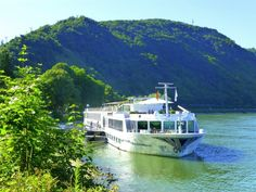 The Uniworld River Empress in Boppard, Germany