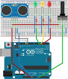 Arduino Theremin schematics