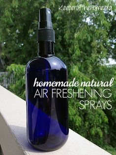 Two Recipes for Odor Eliminating, Air Freshening Sprays {Keeper of the Home}