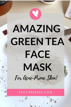 Are you experiencing acne inflammation? Then you might want to try this DIY green tea honey face mask recipe. You won't regret it! Homemade Face Masks, Homemade Skin Care, Diy Skin Care, Homemade Beauty, Organic Skin Care, Natural Skin Care, Natural Face, Natural Beauty, Face Mask For Spots