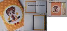 Caderno personalizado ,com tecido e bordado em ponto cruz