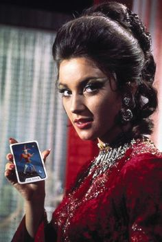 Jane Seymour as Solitaire in Live and Let Die, 1973  As the youngest bond girl ever — she was only 22 years old — Seymour played an enchanting psychic and Tarot card reader, aptly named Solitaire, whose abilities are mysteriously lost when she loses her virginity to James Bond. Yeah, just go with it.