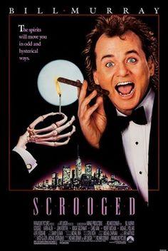 Scrooged (1988) movie #poster, #tshirt, #mousepad, #movieposters2