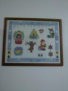 Natal - vários motivos (feito mim, com esquemas vários)