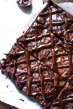Super Moist & Fudgy Brownies with Chocolate Ganache | Brunch Time Baker