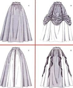 McCalls 4090 Medieval/Renaissance Skirt/Dress Patterns my bottom is the top right Chanel lipstick Giveaway Renaissance Skirt, Renaissance Costume, Diy Medieval Costume, Costume Patterns, Dress Patterns, Pattern Dress, Medieval Dress Pattern, Costume Ideas, Fashion Design Drawings