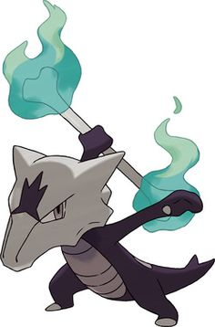 Thoughts about the Alolan Form Marowak from Pokemon Sun and Moon. A fire/ghost type!