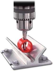 Drill Press V Block Fixture Center It