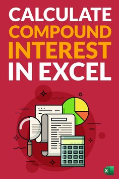 Learn how to quickly calculate compound interest in Excel. I'll show you a simple formula that you can use to calculate compound interest monthly, quarterly, yearly. I will also show you how to use the FV function in Excel to calculate the compound interest. And also created a simple Compound Interest Calculator Excel template that you can download for free Microsoft Excel Formulas, Excel For Beginners, Financial Statement Analysis, Interest Calculator, Excel Hacks, Excel Calendar, Pivot Table, Computer Basics, Skills To Learn