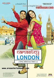 Namastey London Hindi Movie Online - Akshay Kumar, Rishi Kapoor, Katrina Kaif and Clive Standen. Directed by Vipul Amrutlal Shah. Music by Himesh Reshammiya. 2007 ENGLISH SUBTITLE