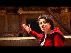 Video Walking Tour Guide Shakespeare's Globe Theatre London; All The World's A Stage -
