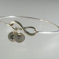 Infinity Monogram Bracelet