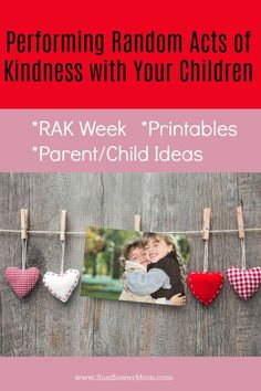 Performing random acts of kindness with your kids is fun and an easy way to involve them in service projects! Here is why we celebrate RAK week and how you can involve your children and resources to use along the way with a free printable! Single Parenting, Kids And Parenting, Parenting Hacks, Creative Activities, Activities For Kids, World Kindness Day, Getting Played, Chores For Kids, Service Projects