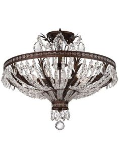 Sheraton Semi-Flush Ceiling Light | House of Antique Hardware