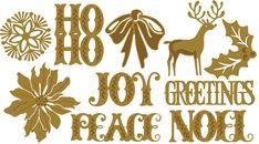 HSN March 16th Sneak Peek 7 | Anna's Blog - Seasonal Set of Christmas Cutting Dies - autoship option available