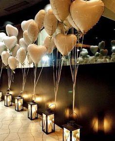 Corredor de balões