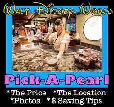 Looking for a fun kid activity at Disney World? (Adults love this too, btw...) Under $20, See Why the Pick-A-Pearl is a Must-Do!