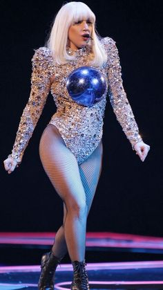 Lady gaga doin her thing