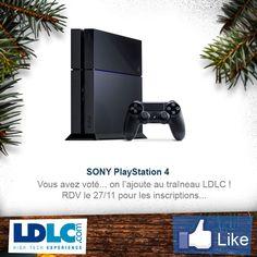 Sony PlayStation 4 => http://www.ldlc.com/fiche/PB00149139.html#53302f3f2a970
