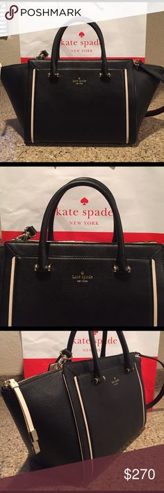 Newl Release! Kate Spade Orley Satchel This is a newly release (2/17) Kate Spade Handbag from the ' Garrett Street Collection. Bought from a Kate Spade Boutique store. Very beautiful! It has a lot of space. kate spade Bags Satchels