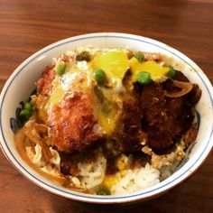"onionchoppingninja: ""  YURI'S KATSUDON from ユーリ!!!Yuri on Ice If people say that they are going to become a beautiful katsudon, how can I not make that katsudon? A sexy crispy layer, with much to chew on, and the warm entangling yolk… skating to the..."