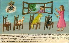 Когда закрыли школу, в которой моя жена много лет преподавала, она была крайне подавлена и взяла за привычку давать уроки нашим домашним животным. Меня это беспокоило, и я взмолился Святому Франциску. И он сотворил чудо: моей жене в итоге предложили место учительницы в другой школе, и она перестала просвещать бедных животных, которым всё это порядком наскучило.