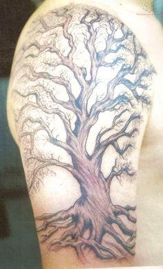 gnarly tree tattoo - Google Search