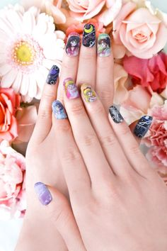 Style your fingertips with the Sailor Moon Charanail - SGCafe