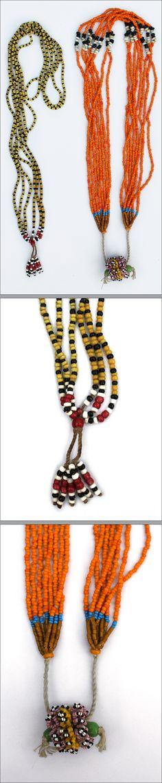Kalimantan, Indonesia - Dayak necklaces